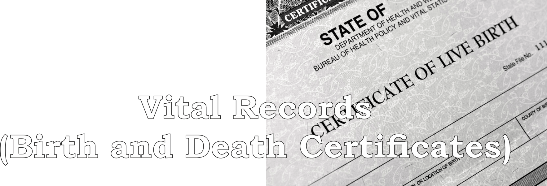 Vital Records Birth Death Certificates Howell County Health