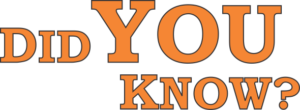 "Did You Know logo and link to sign up for ""Did You Know?"" emails"